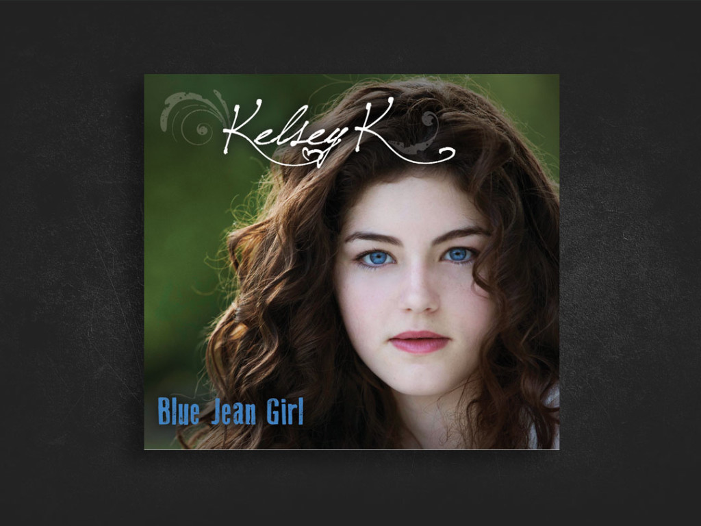 Blue Jean Girl CD Design