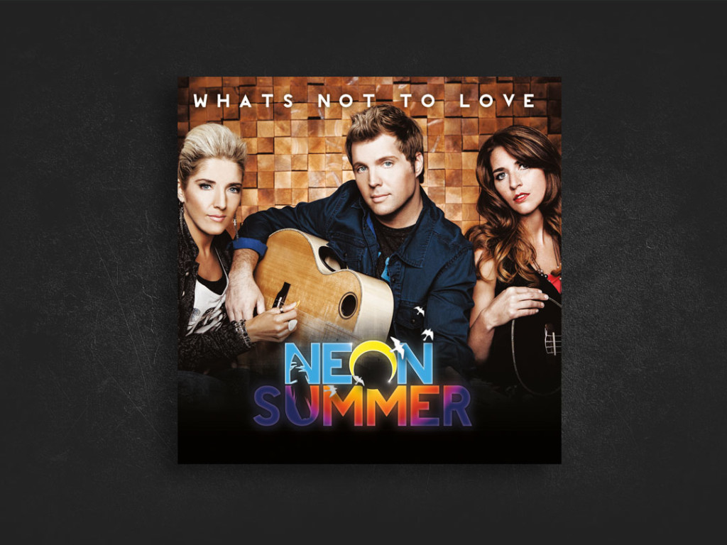 Neon Summer CD Design