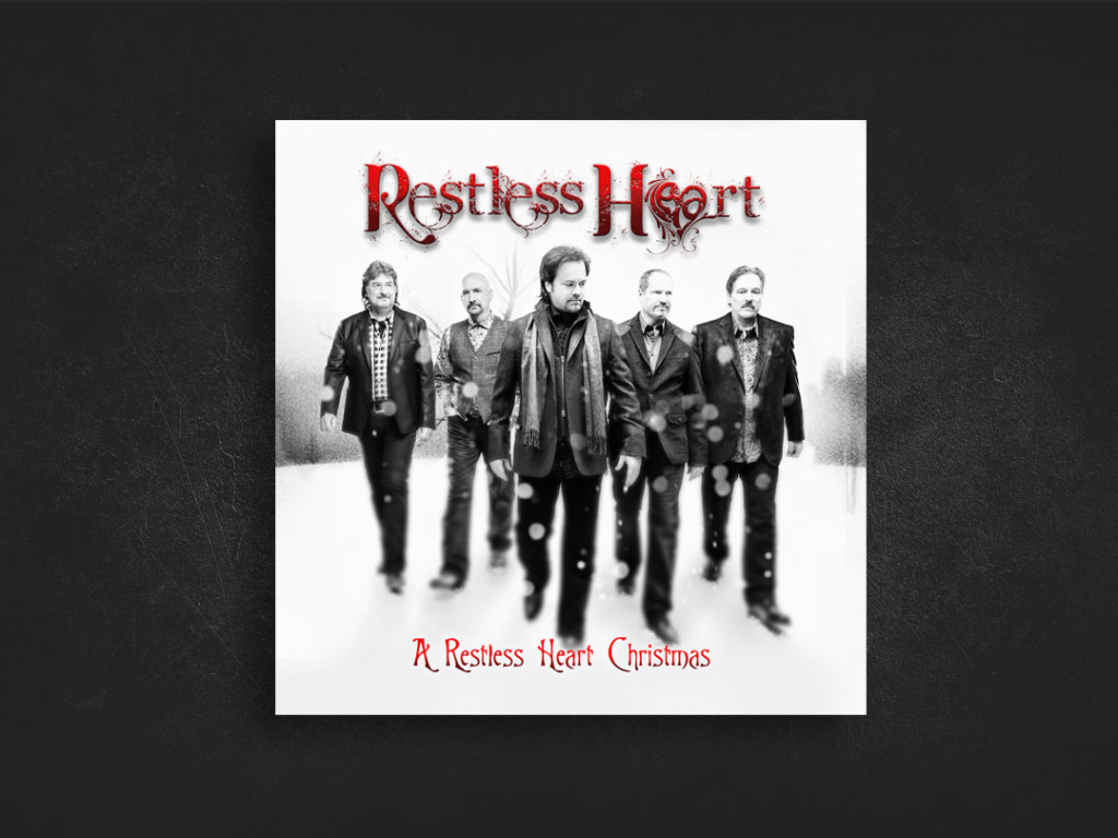 Restless Heart Christmas CD Design