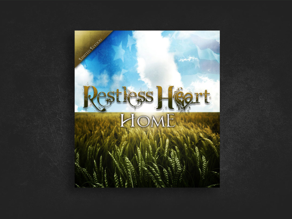 Restless Heart Home CD Design